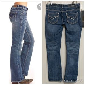 Rock & Roll Cowgirl Jeans Size 30 L 32